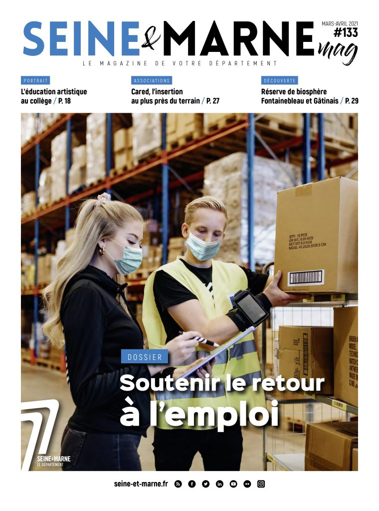Couverture Seine & Marne Mag n°133