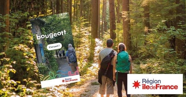 Application Bourgeott - Région Île-de-France - Disponible sur Android et iOS