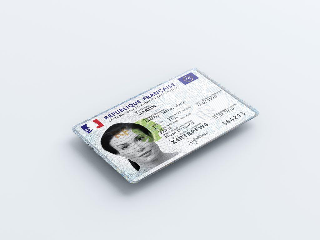 Nouvelle carte d'identité européenne